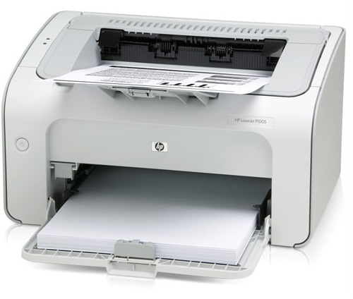 hinh anh may in hp laserjet P1005