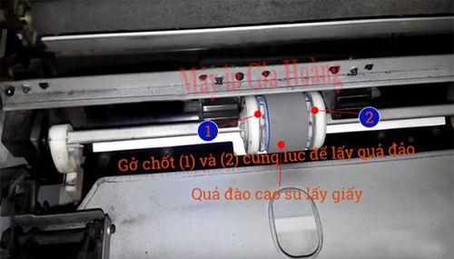 sửa lỗi máy in canon lbp 2900 không kéo giấy