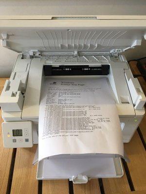 sửa máy in HP M129, M130, M130fn, M130nw bị đen giấy